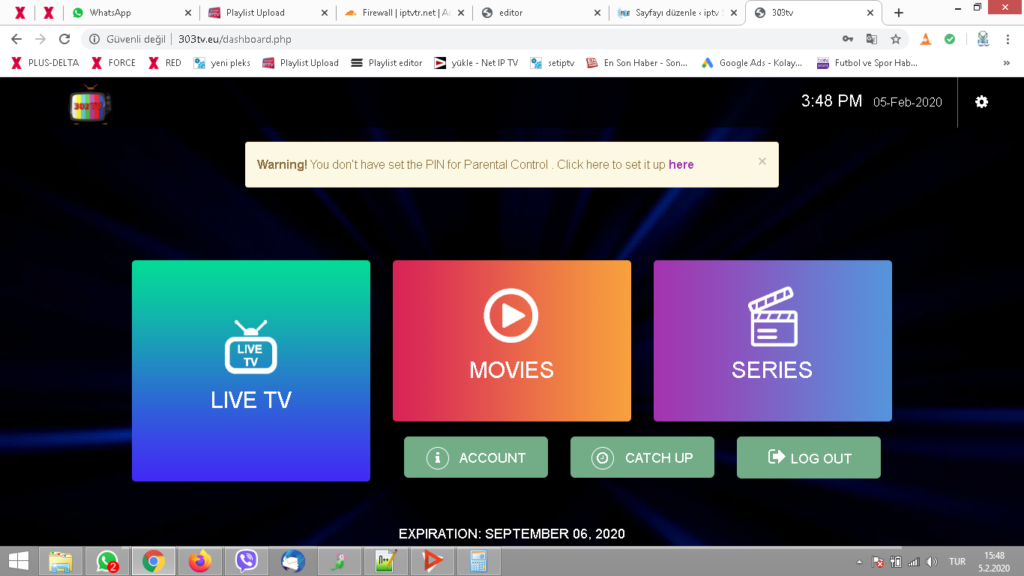 iptv web tv